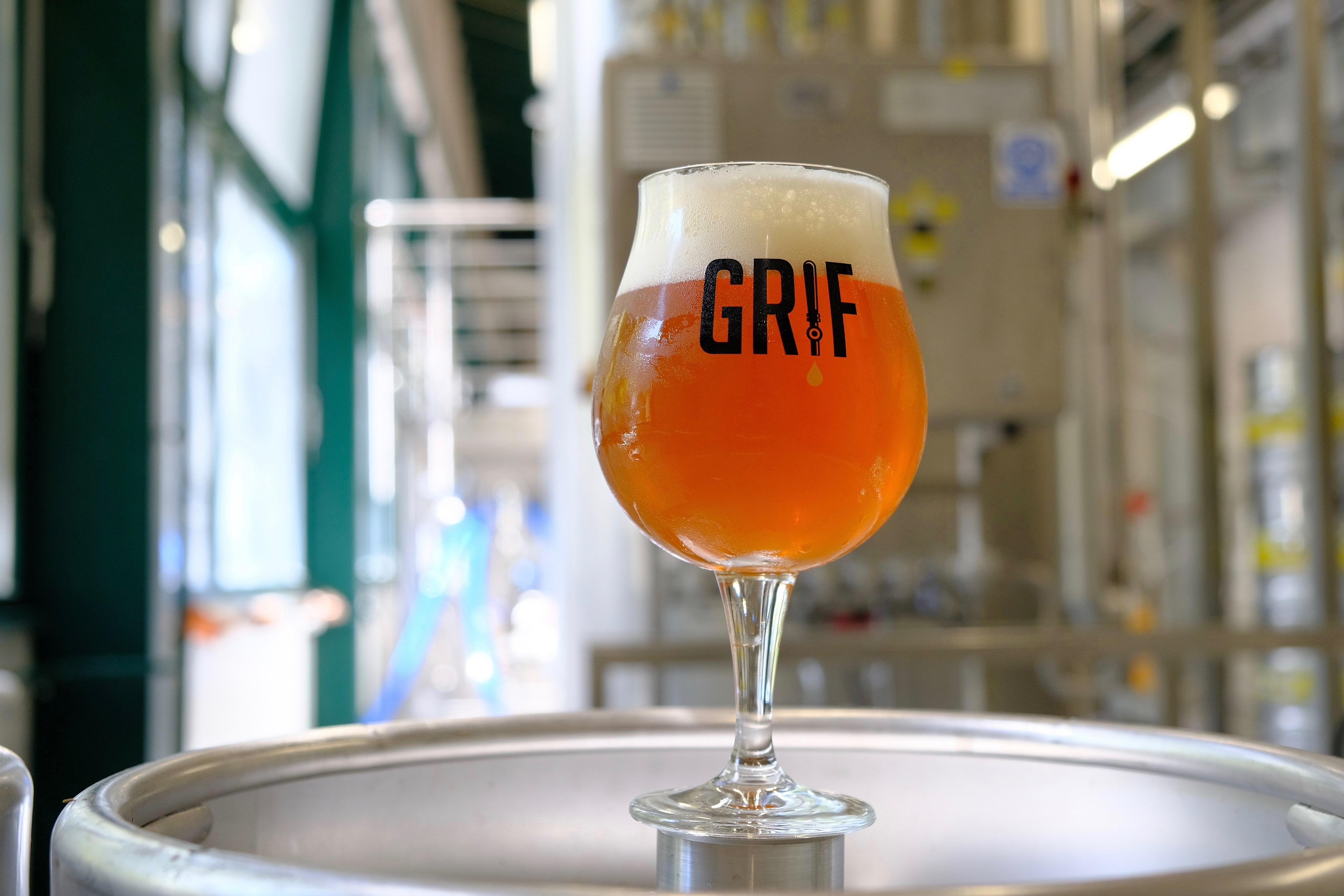 GRIF SESSION IPA novo osvježenje iz Grif mikropivovare