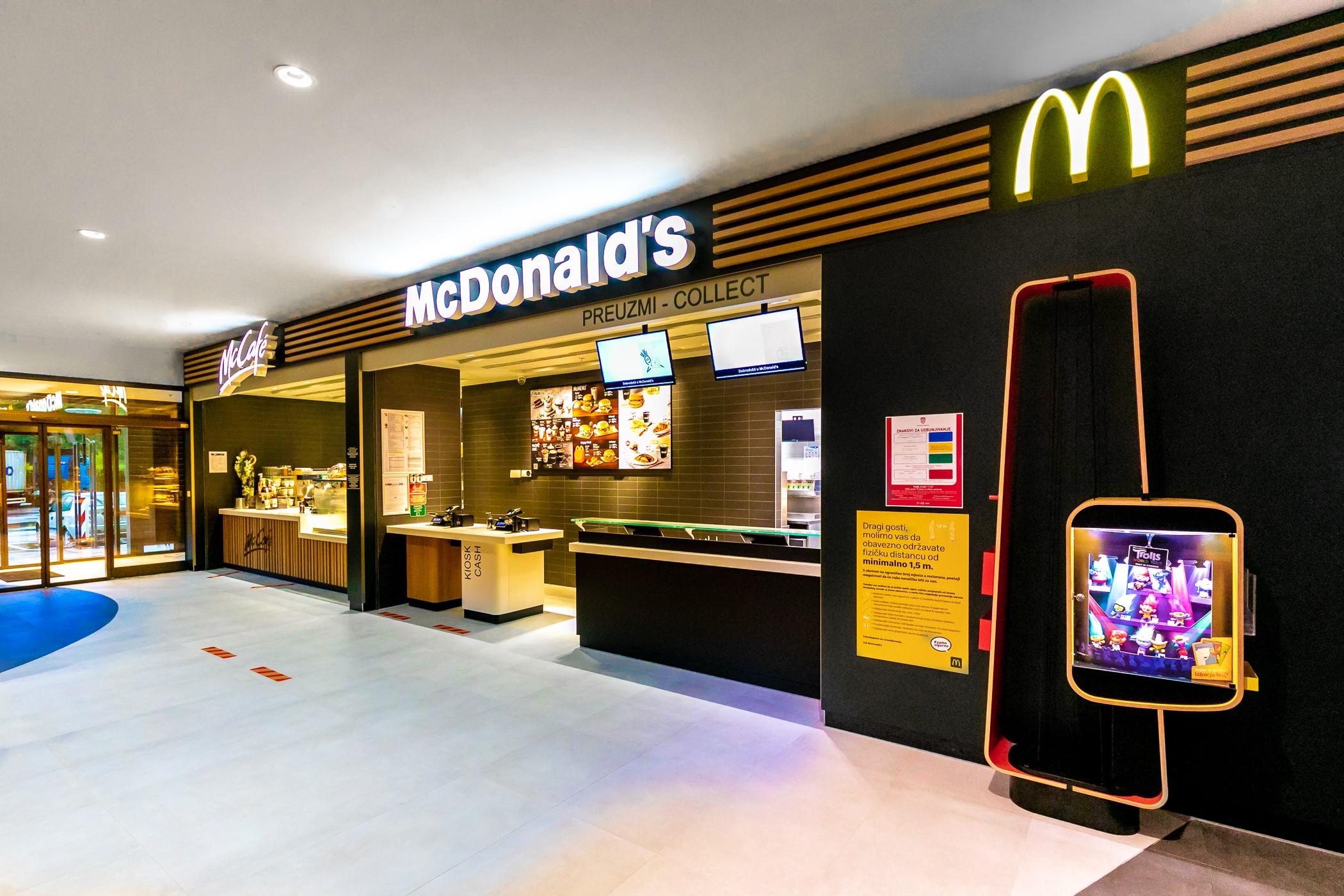 VJERUJU U HRVATSKU Otvoren prvi McDonald's na autocesti A1