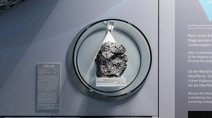 Izložen jedan od najvećih meteorita s Mjeseca