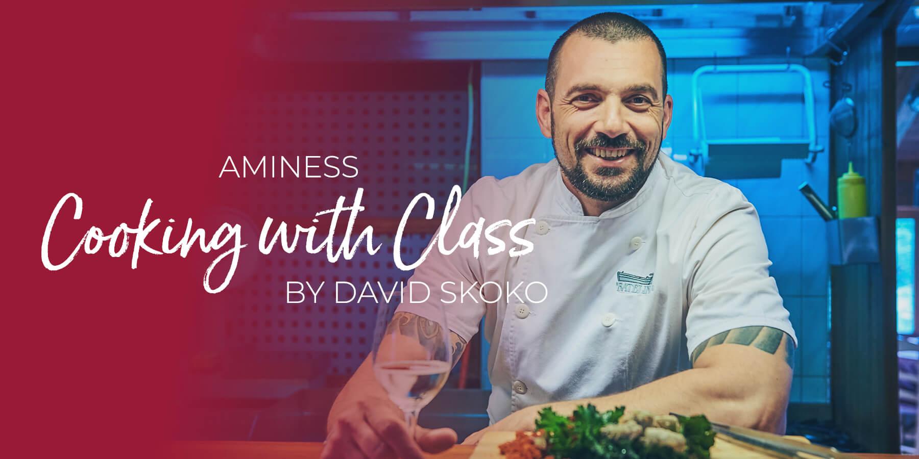Aminess Cooking with Class by David Skoko – savršena prilika za vikend bijeg u Istru