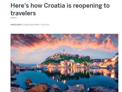 Uvjeti ulaska u Hrvatsku u vodećim američkim medijima