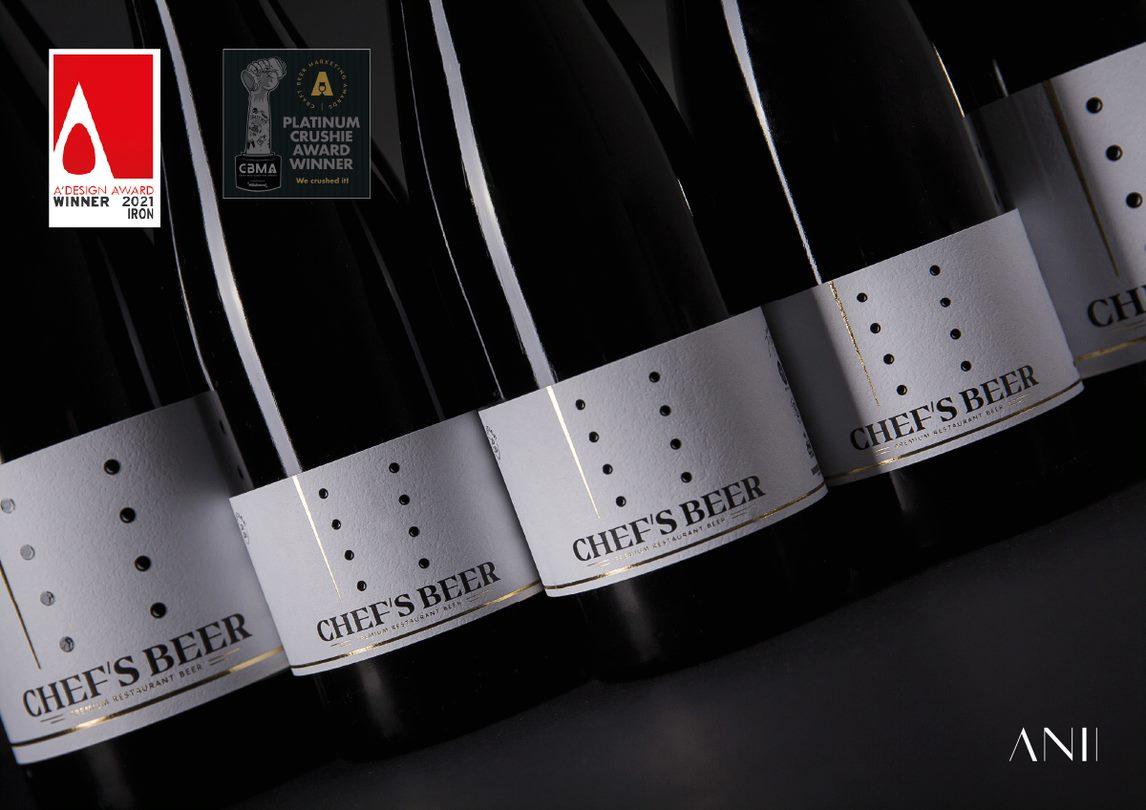 Čista platina za atelier ANII! Etiketa za Chef's Beer najbolja je u Europi